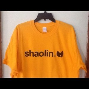 Shaolin Wu T-shirt New